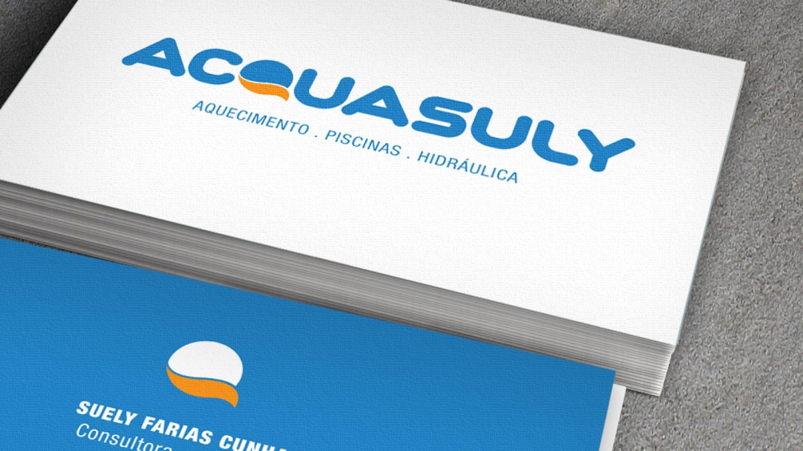 Cartão de visita - Acquasuly Piscinas